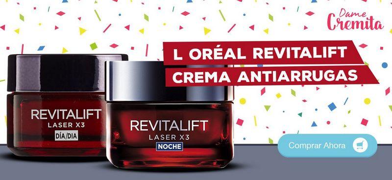 crema antiarrugas loreal revitalift