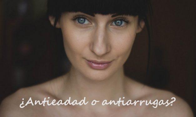 Diferencia entre las Cremas Antiarrugas y Antiedad